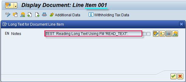 Long Text