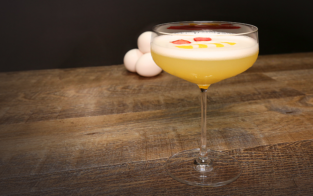 Egg Whites in Cocktails