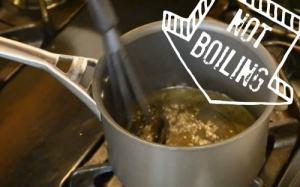 Limoncello - heat don't boil