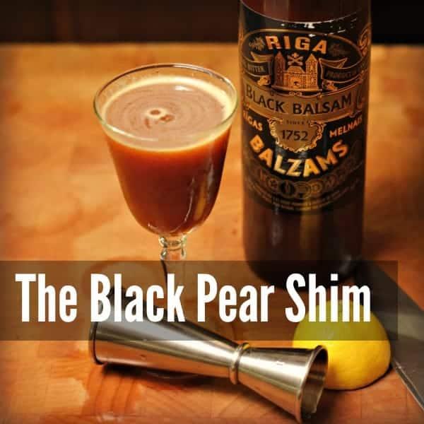 The Black Pear Shim