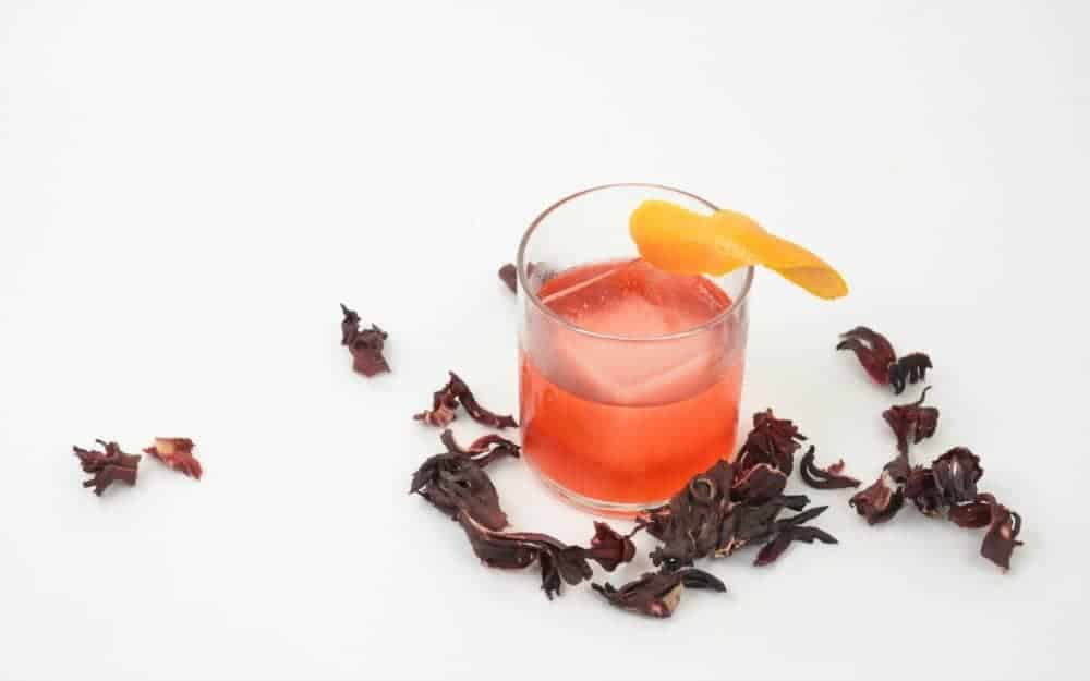 Old Flor Hibiscus Cocktail