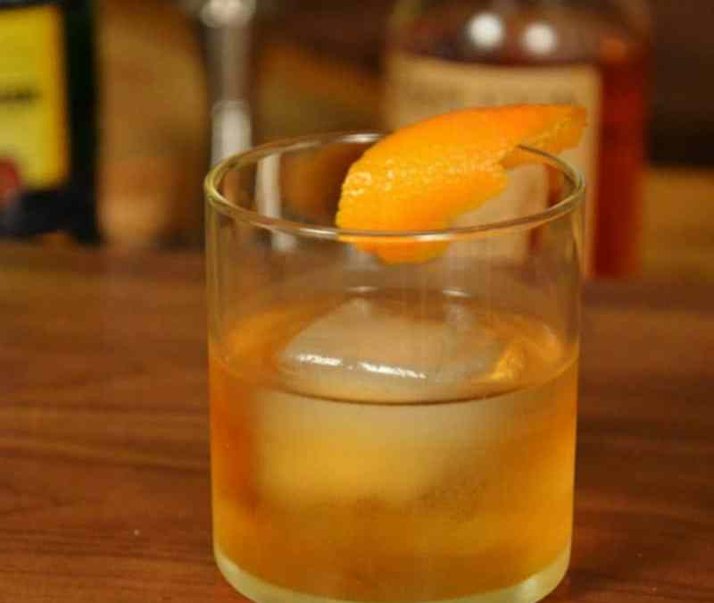 Becherovka Old Fashioned