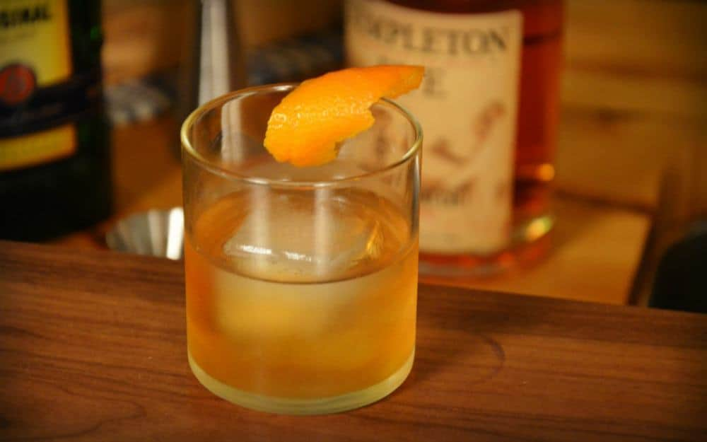 P1 - Becherovka Old Fashioned