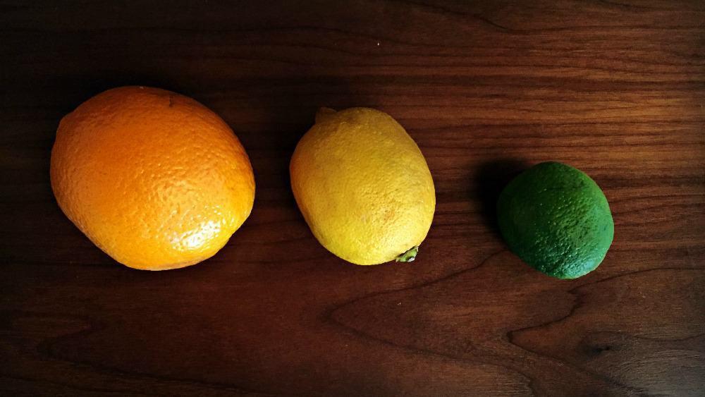 P2 - Types of Citrus