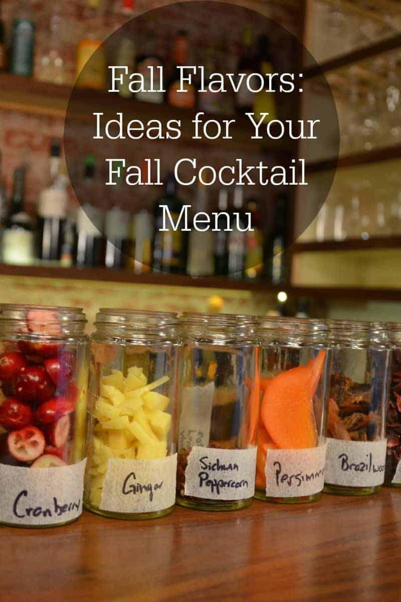 PI - Fall Cocktail Menu