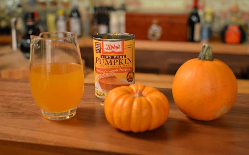 P1 - Pumpkin in Cocktails