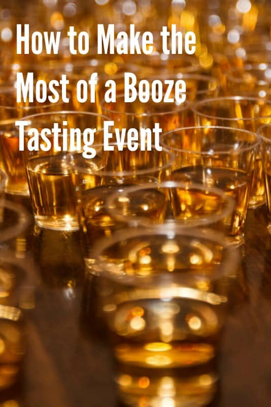 10 Tips to Make the Most of a Tasting Event