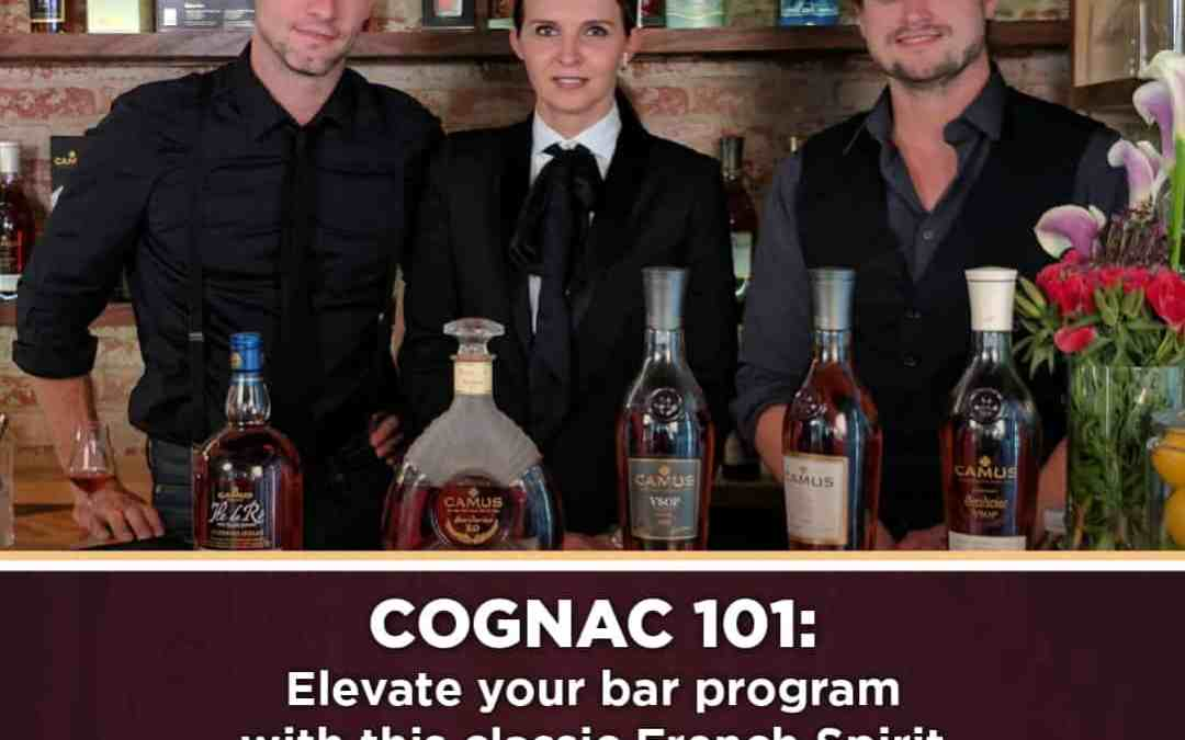 New Seminar Announced! Cognac 101, Brought to you by CAMUS Cognac