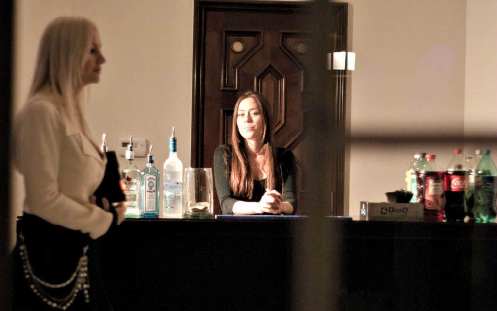 Managing more experienced bartenders