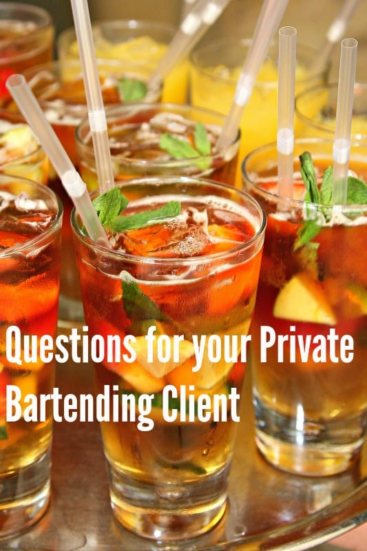 10 Things to Ask a Potential Private Event Client