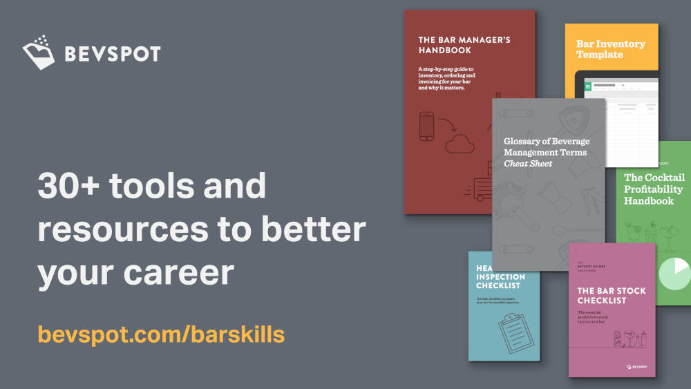 BevSpot Resources for Bar Careers