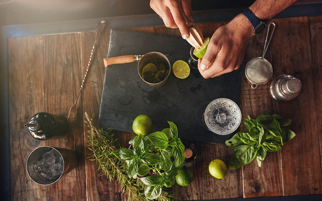 Herbs to Grow for your Cocktail Program