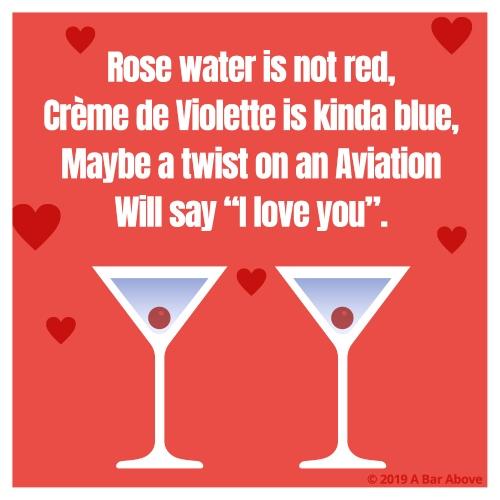 Bartender Valentine - Aviation