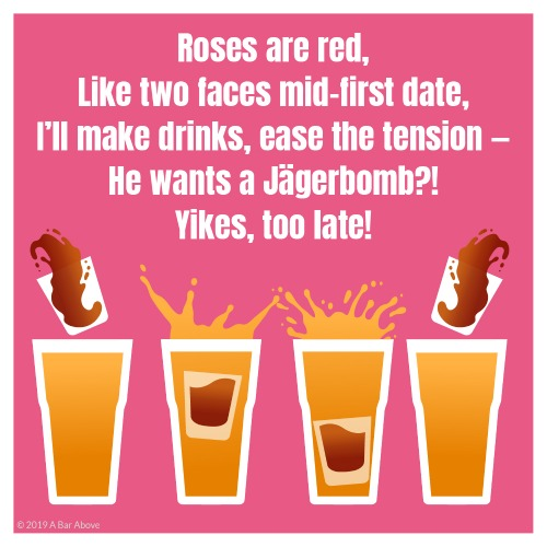 Bartender Valentine - Jagerbomb