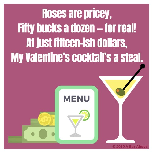 Bartender Valentine - Pricey Roses 2