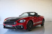 Abarth 124 Prototype Test Drive at Silverstone