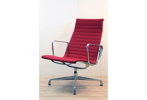 Charles Eames Stuhl Hopsack rot Vitra Chair EA 116