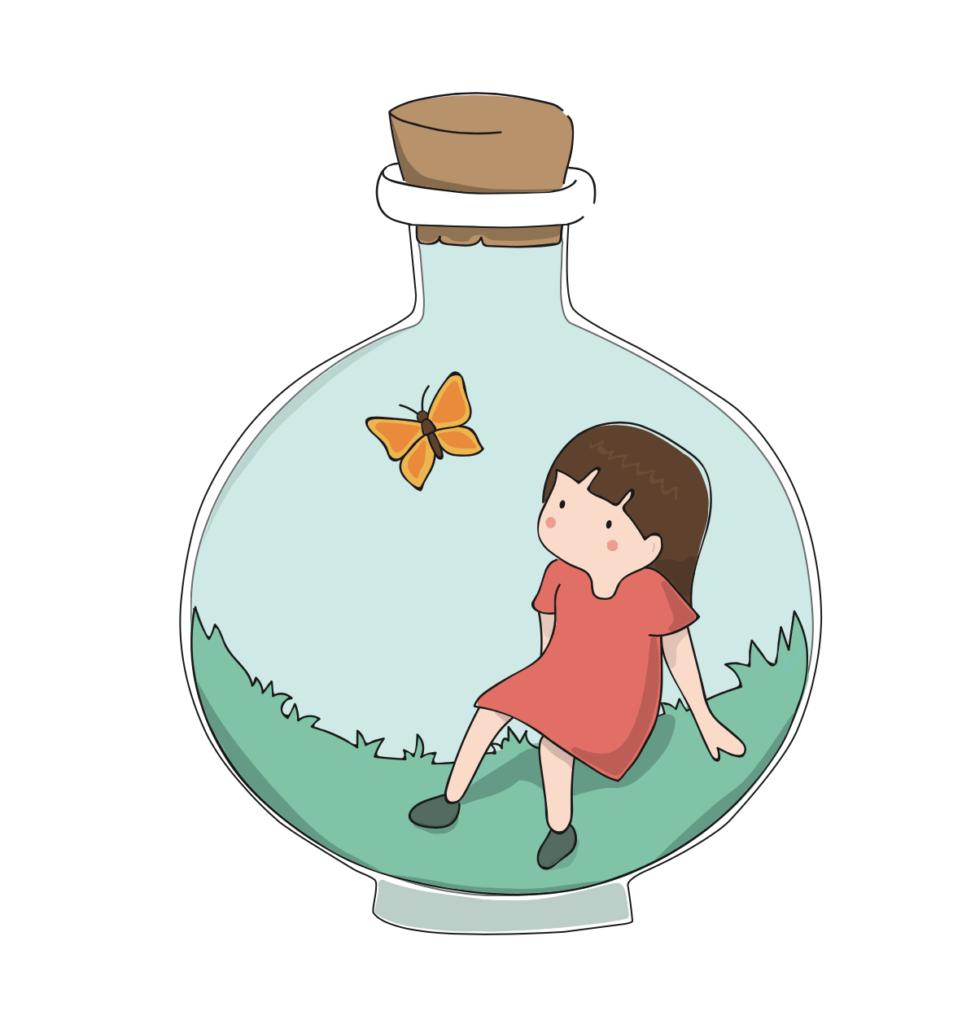 Autismo illustrazione