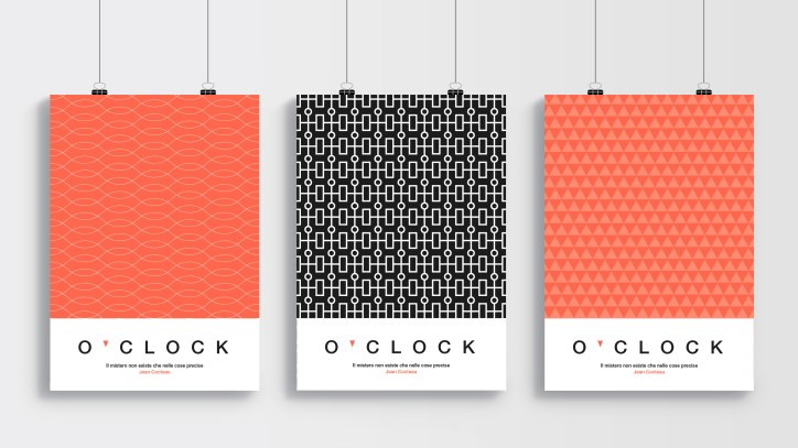 Poster - o'clock project