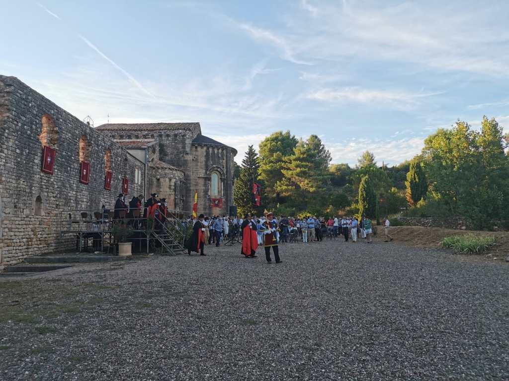 Abbaye-Fontcaude-occitanie-Fête-de-Saint-Jacques-2020