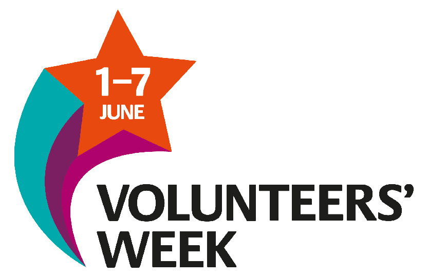 Volunteers week logo