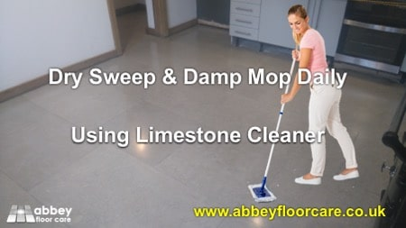 How To Clean A Limestone Floor In Atherstone Warwickshire CV9
