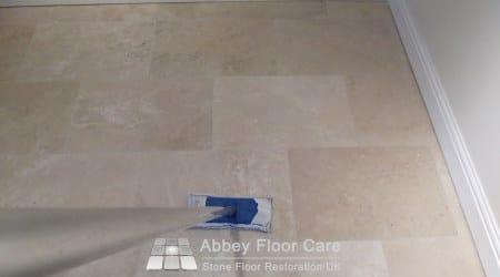 Sealing a Travertine floor in Sutton Coldfield B72