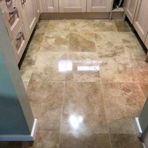 1 travertine floor cleaning service for