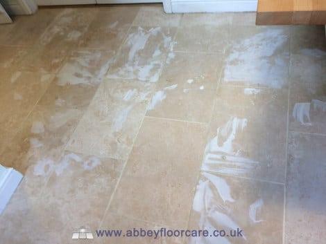 grout filling travertine tiles alton hampshire abbey floor care