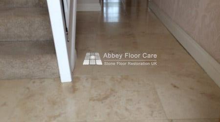 travertine sealing balderton newark abbey floor care