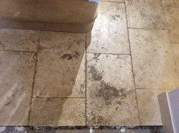 cleaning travertine tiles in Loughborough Leicestershire