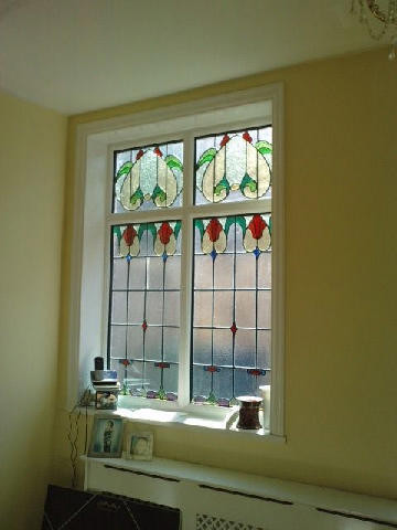 Leaded Units Double Glaxing Stained Glass Windows
