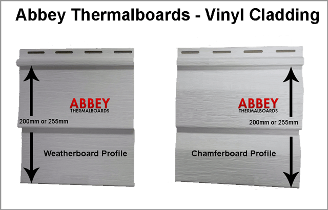 Vinyl Cladding Weatherboard Chamferboard Profile Abbey Thermalboards