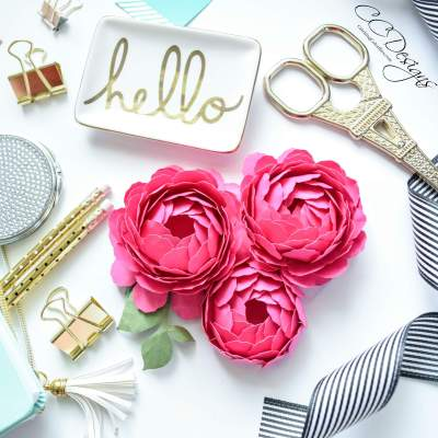 Paper Flower Peony: How to Make Paper Peonies
