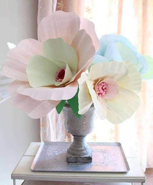 Giant Paper Flower Bouquet Centerpiece