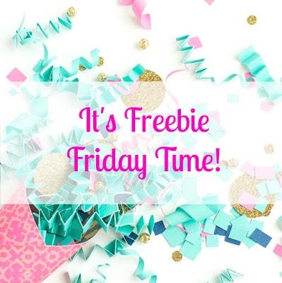 Free Home Printable- Freebie Friday