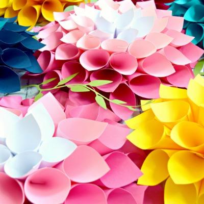 DIY Paper Flower Bouquet- Part 2