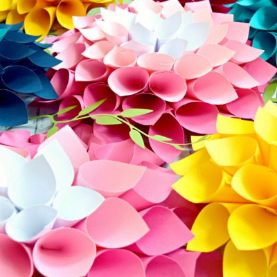 DIY Paper Flower Bouquet- Part 2