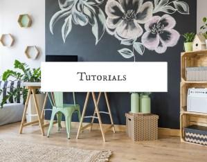 Easy paper flower video tutorials
