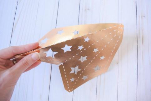 3D Paper Star Templates