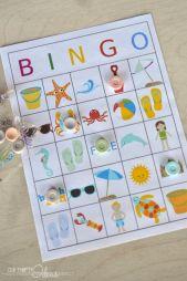 Summer BINGO Printable