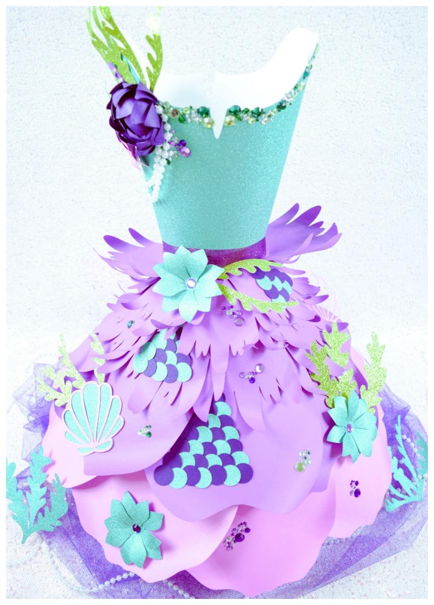 Paper Dress Template: Paper Dress DIY Tutorial