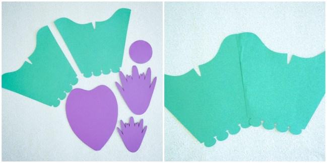 Paper Dress Template: How to Make a Paper Dress - DIY Tutorial