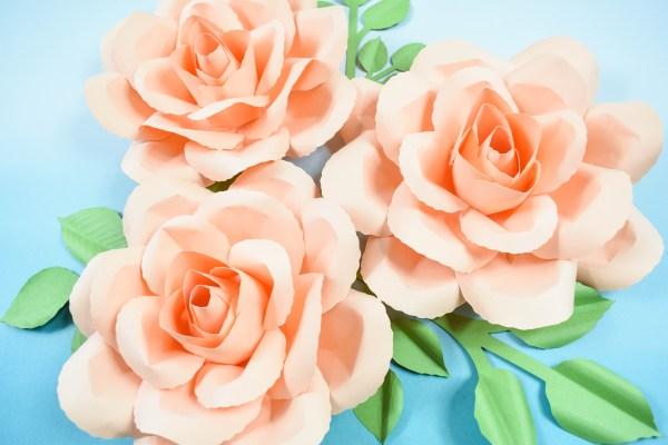 DIY Paper Rose:Serena Rose Tutorial