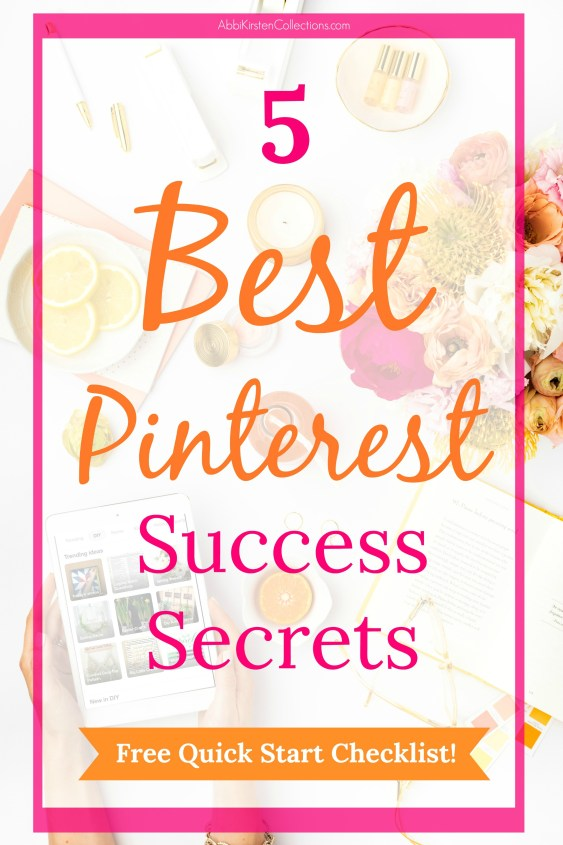 How to use Pinterest to Market Your Business: 5 Best Tips to Success. Marketing success for Pinterest will help you drive traffic to your blog and shop.