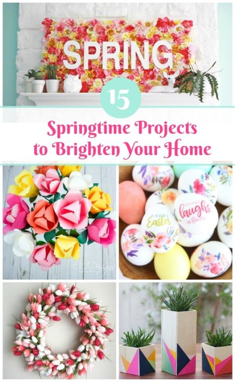 The Best Springtime Projects for 2018.