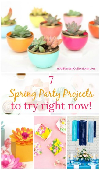 7 DIY Projects to Make Your Spring Party Pop - Spring Party Decor
