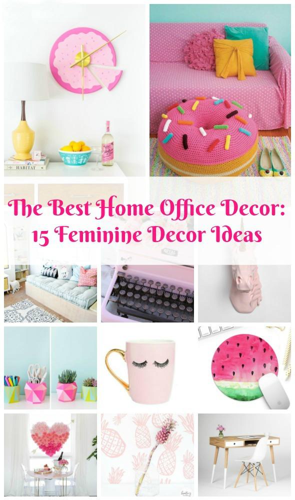 Best Home Office Ideas for Women: 15 Feminine Decor Ideas