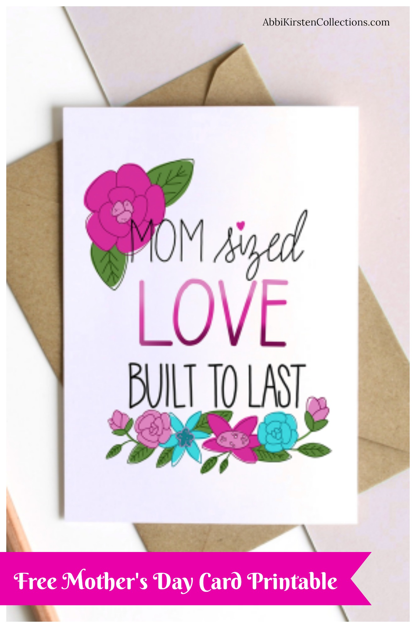 Free Mothers Day Card Printable Freebie Friday Post
