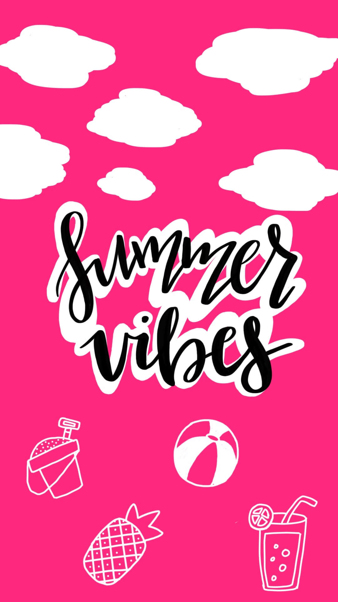 Summer Freebie: Colorful Phone Wallpapers
